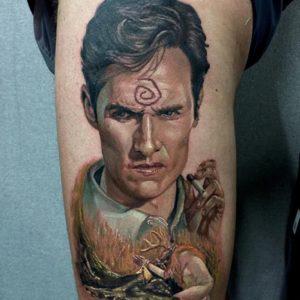 Matthew McConaughey tattoo