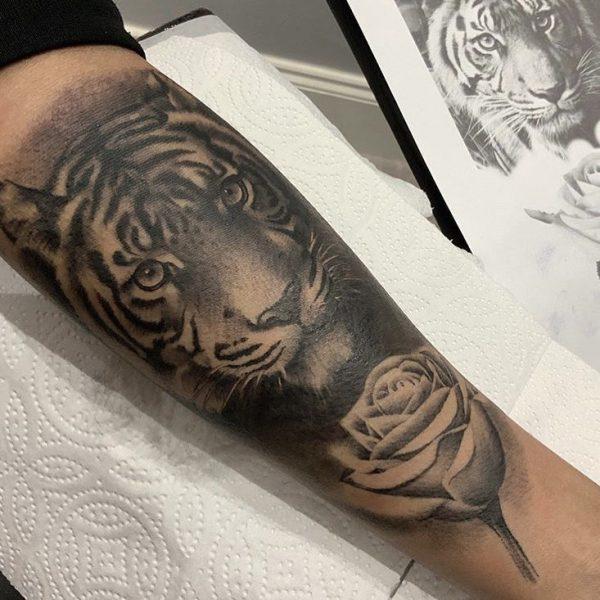 Tiger & Rose